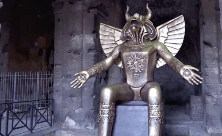 Molok- jumala Rooman Colosseumilla - tänään