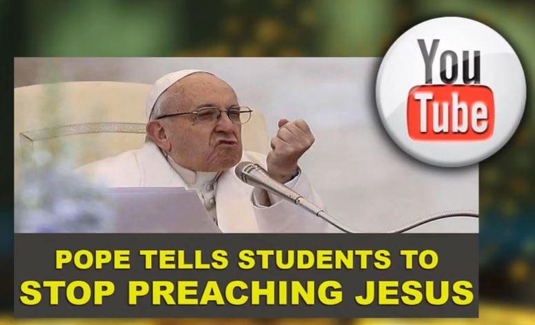 Paavi taas vauhdissa